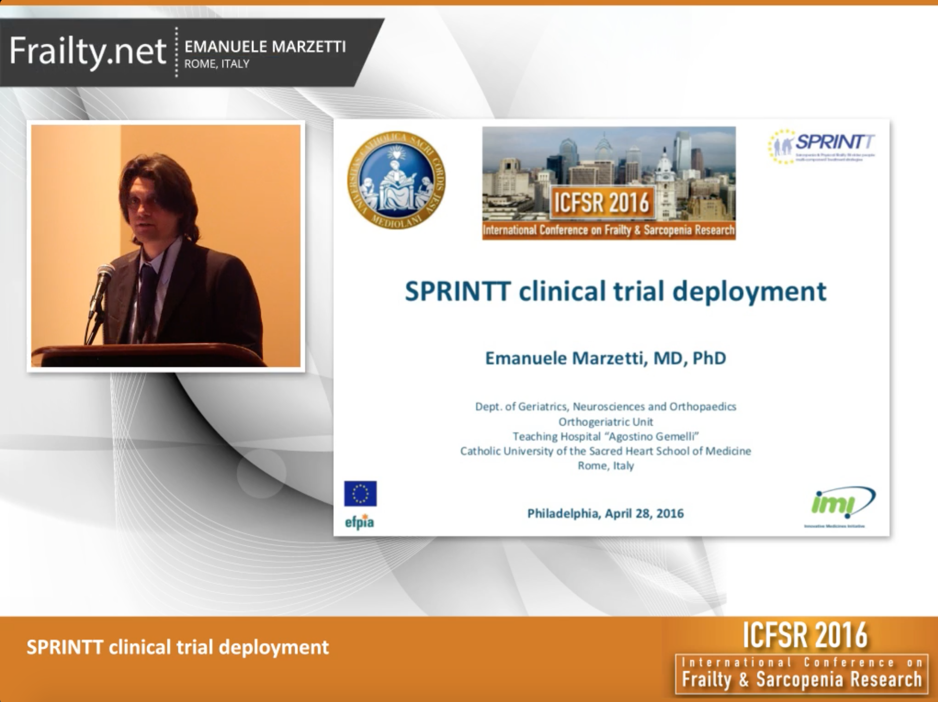Dr. Emanuele Marzetti