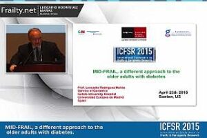 Video of ICFSR 2015 talk by Leocadio Rodriguez Manas