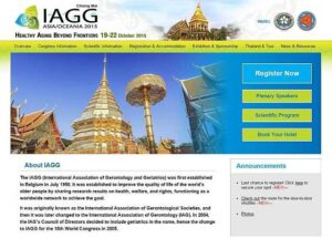 IAGG 2015 held in Thailand