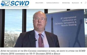Prof. S Anker of the SCWD on the Berlin 2016 conference 10-11 December 2016